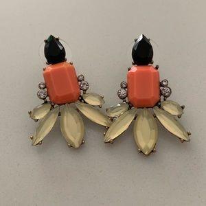 J. Crew Gemstone Earrings